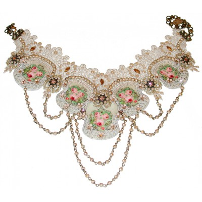 Michal Negrin Lace Necklace