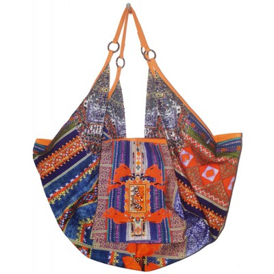 Camilla Franks The Indigo Trail Shoulder Bag