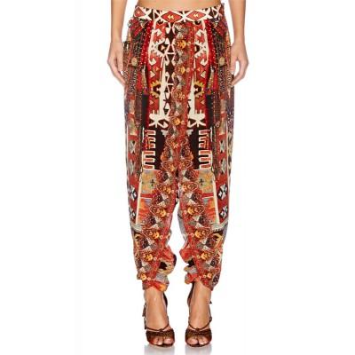 Camilla Franks Pilgrim Weaving Gathered Wrap Front Pants