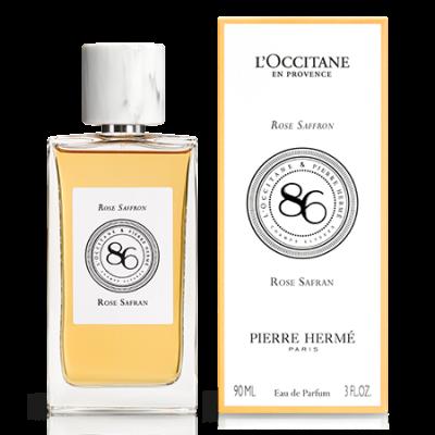 L'Occitane Pierre Herme 86 Champs ROSE & SAFFRON Eau De Parfum 90ml