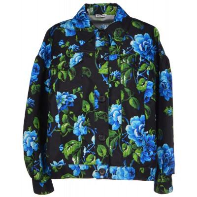 Miu Miu Blue Flowers Jacket