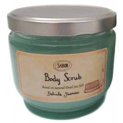 Sabon Delicate Jasmine Body Scrub 600g / 21.2oz