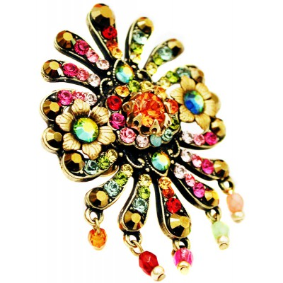 Michal Negrin Multicolor Carnival Ring