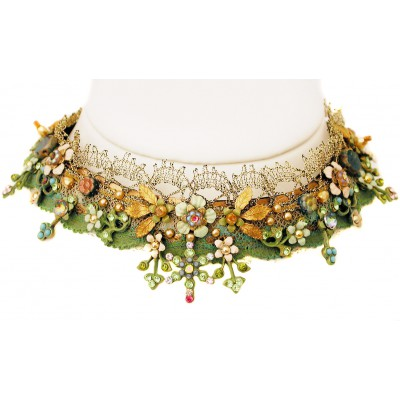 Michal Negrin Forest Choker Necklace