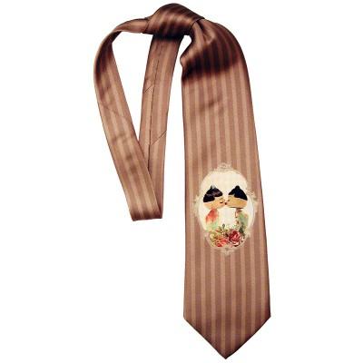 Michal Negrin Striped Dolls Kiss Tie