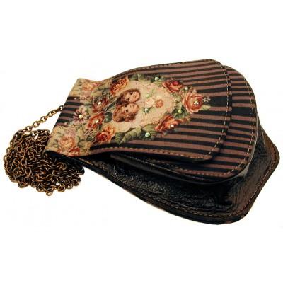 Michal Negrin Victorian Cherubs Handbag Pouch