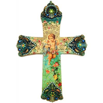 Michal Negrin Angel Wall Decor Large Cross