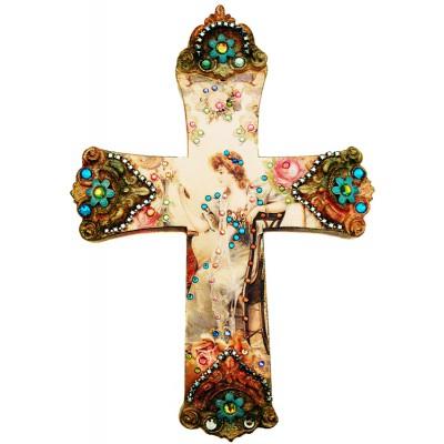 Michal Negrin Woman Wall Decor Large Cross