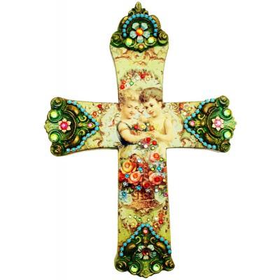 Michal Negrin Best Friends Wall Decor Large Cross