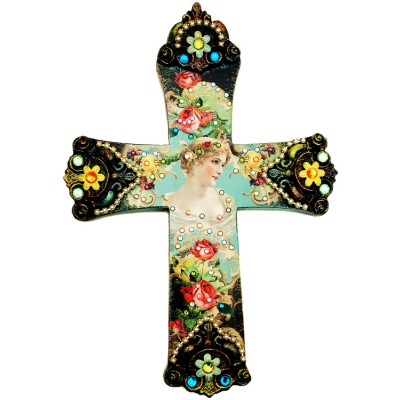Michal Negrin Muse Wall Decor Large Cross