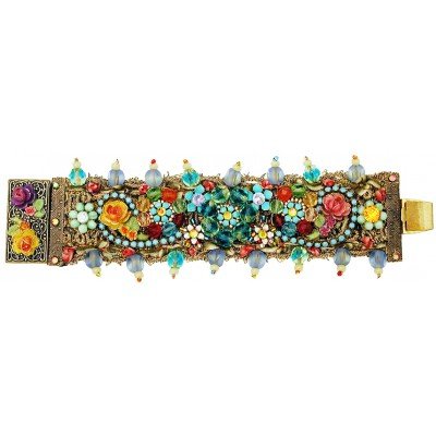 Michal Negrin Multicolor Embellished Bracelet