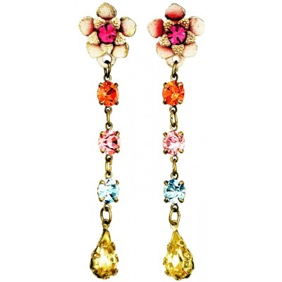 Michal Negrin Multicolor Post Earrings