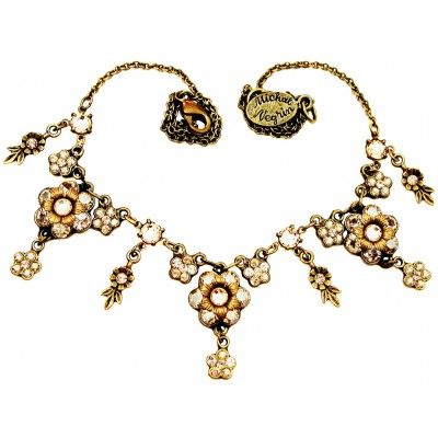 Michal Negrin Gold Tones Champs Élysées Necklace