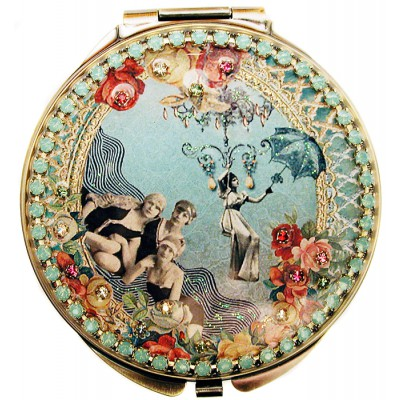 Michal Negrin Turn of the Century Compact Mirror