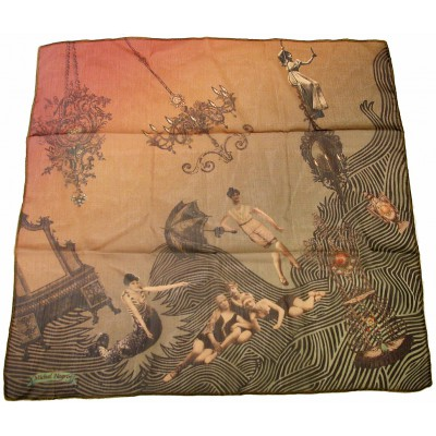 Michal Negrin Vintage Style Scarf
