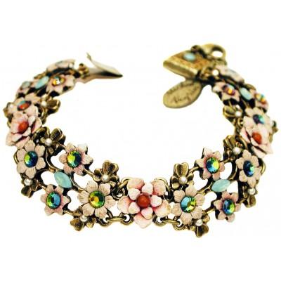 Michal Negrin Vintage Flowers Bracelet