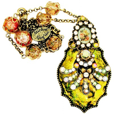 Michal Negrin Bewitched Crystal Necklace