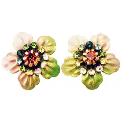 Michal Negrin Tiedye Anemone Stud Earrings