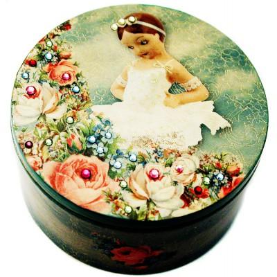 Michal Negrin Ballerina Jewelry Box