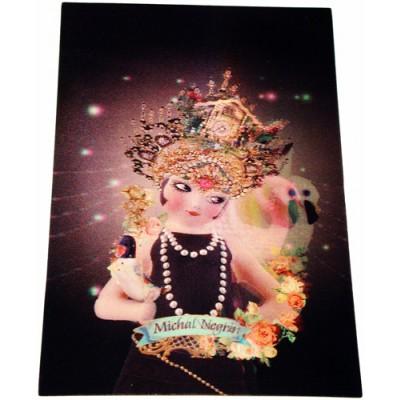Michal Negrin Princess Lenticular Postcard