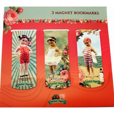 Michal Negrin Retro Bookmarks Set