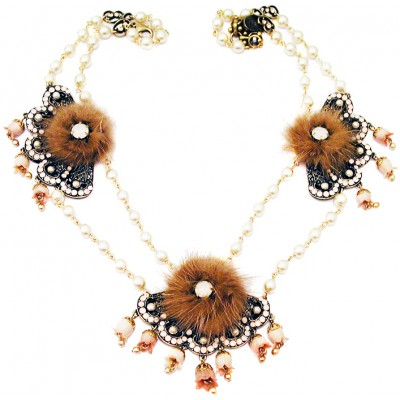 Michal Negrin Deco Style Necklace