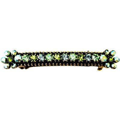 Michal Negrin Green Hair Clip Barrette
