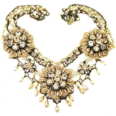 Michal Negrin Vintage Glamour Necklace