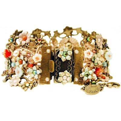 Michal Negrin Vintage Crochet Bracelet