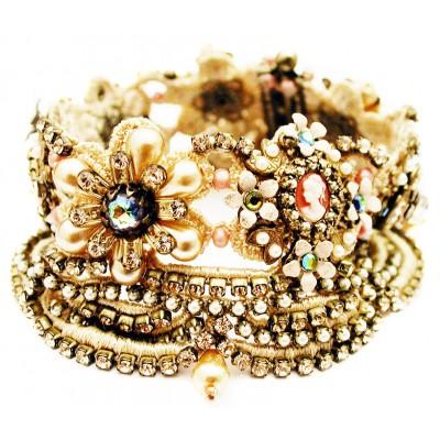 Michal Negrin Victorian Lace Bracelet