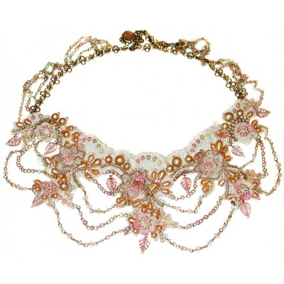 Michal Negrin Romantic Lace Necklace
