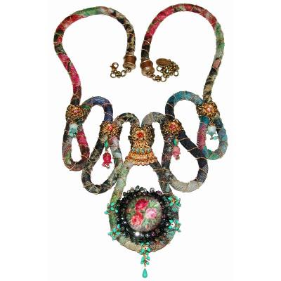 Michal Negrin Multicolor Necklace