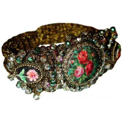 Michal Negrin Cameos Clamp Bracelet