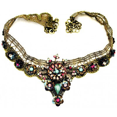 Michal Negrin Lace Choker Necklace
