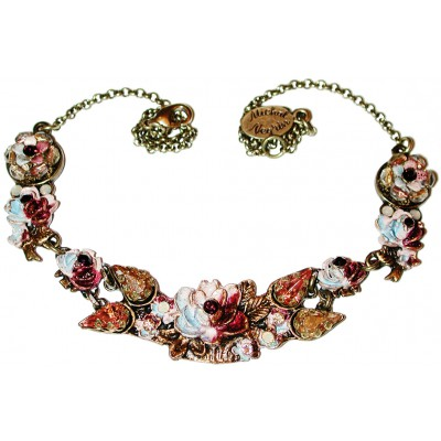 Michal Negrin Autumn New York Roses Necklace