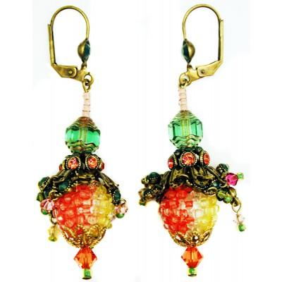 Michal Negrin Pineapple Earrings