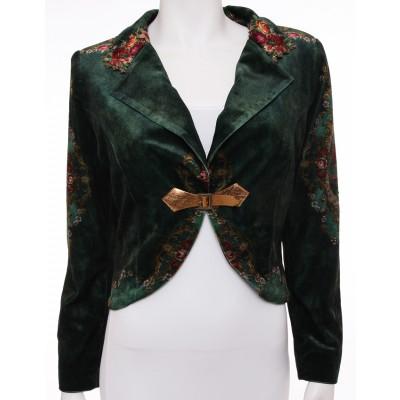 Michal Negrin Velvet Jacket