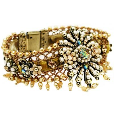 Michal Negrin Woven Carnival Bracelet