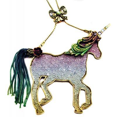 Michal Negrin Unicorn Necklace