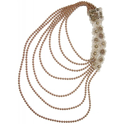 Michal Negrin Baroque Pearls Necklace