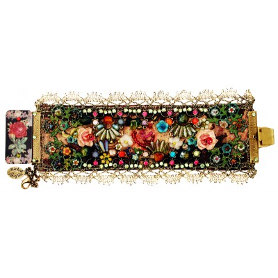Michal Negrin Baroque Floral Bracelet
