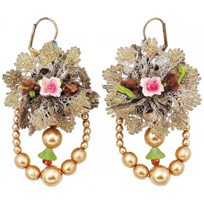 Michal Negrin Baroque Pearls Earrings