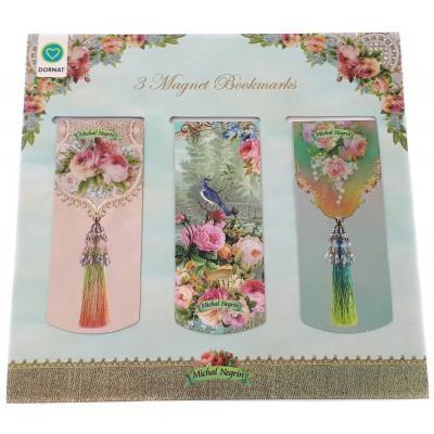 Michal Negrin Victorian Bookmarks Set