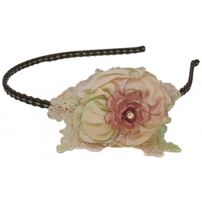 Michal Negrin Vintage Rose Headband