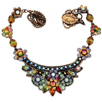 Michal Negrin Multicolor Crest Necklace