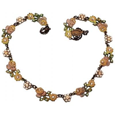 Michal Negrin Vintage Roses Strand Necklace