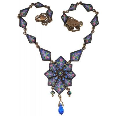 Michal Negrin Deco Pendant Necklace