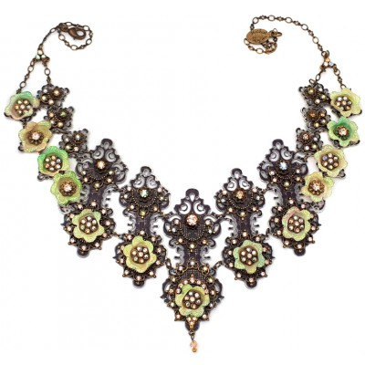 Michal Negrin Glittering Shadow Necklace