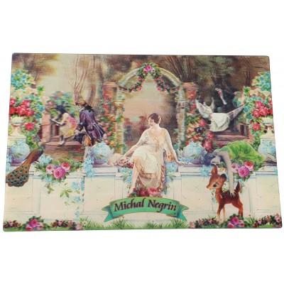 Michal Negrin Arcadia Lenticular Postcard