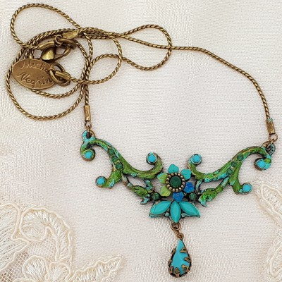 Michal Negrin Turquoise Georgia Necklace